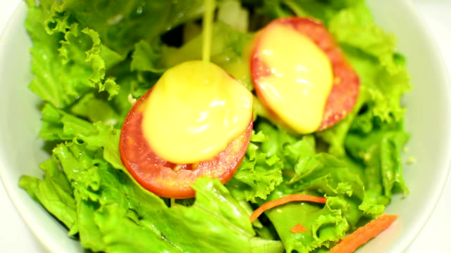 eat salad - human limb stock videos & royalty-free footage