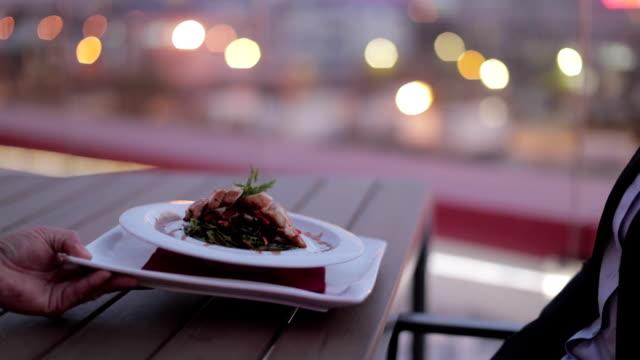Essen im restaurant