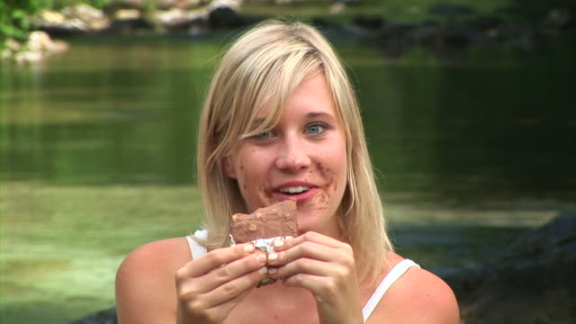 HD: Eating Chocolate By The River