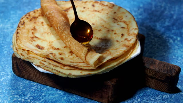 eating crepes - crepe stock videos & royalty-free footage