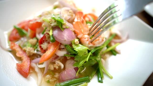 Thai-Food, Yum Woon Sen Essen.