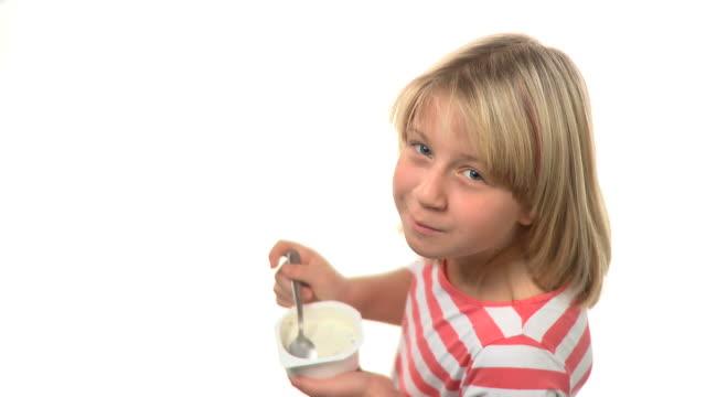 HD: Eating Yogurt