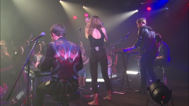 vídeos y material grabado en eventos de stock de ebba tove elsa nilsson more commonly known as tove lo brings her trance pop sound to jbtv as she plays song 'not on drugs' - montaje documental