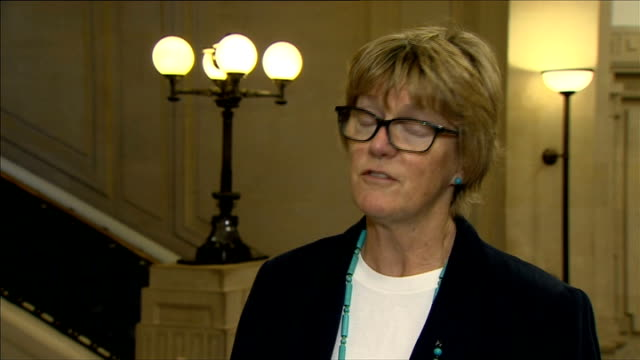 Simulation exercise carried out in UK / death toll in Africa passes 4000 Millbank INT Dame Sally Davies interview SOT big problem is in west Africa...