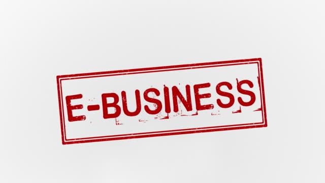 e-business - e post bildbanksvideor och videomaterial från bakom kulisserna