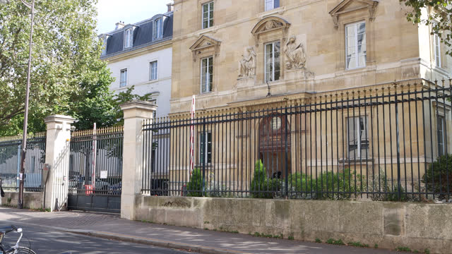 ecole normale supérieure in paris - literature stock videos & royalty-free footage