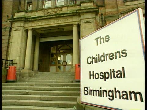 birmingham vars children's hospital birmingham - eschericia coli stock-videos und b-roll-filmmaterial
