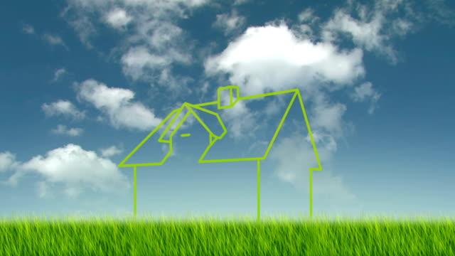 vidéos et rushes de ecologic green house - propriétaire immobilier