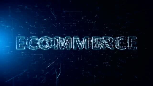 ecommerce animation - capital letter stock videos & royalty-free footage