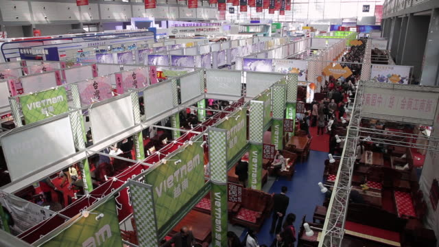 WS Economic match maker meeting in exhibition center / xi'an, shaanxi, china