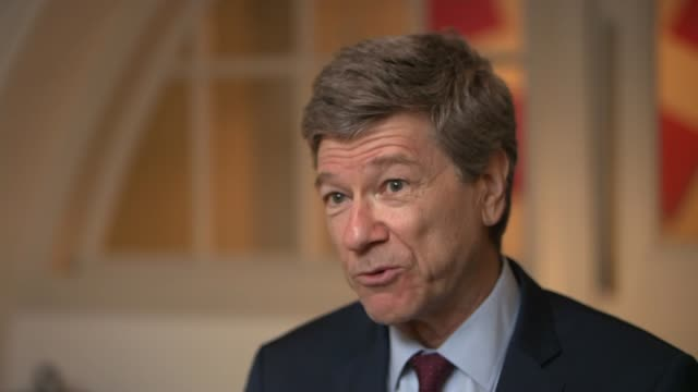 Economist Jeffrey Sachs warns Donald Trump's trade war could become real war LOCATION Professor Jeffrey Sachs interview SOT