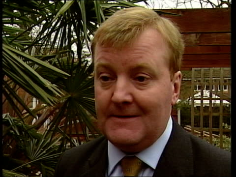 brown comments on tax; south london: ext charles kennedy mp interview sot - i think there's no doubt that the extra tax take that tony blair and... - no doubt band stock videos & royalty-free footage