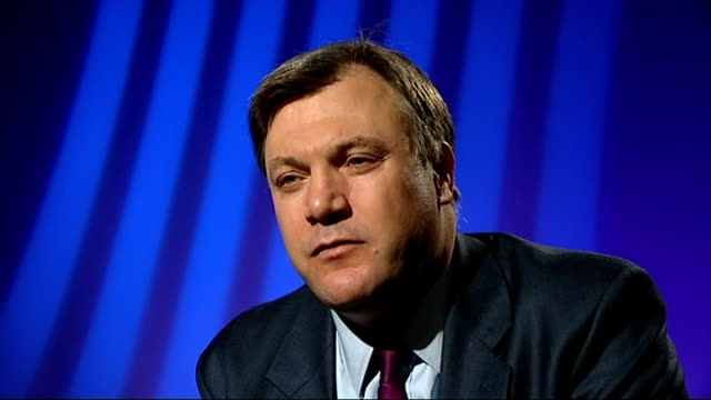 UK economy heading for triple dip recession London Ed Balls MP interview SOT two years ago that going too fast would choke off the recovery and cause...
