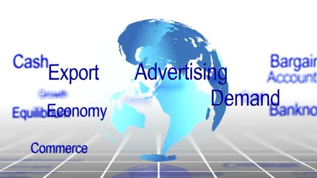 vídeos y material grabado en eventos de stock de economía palabras - accesorio financiero