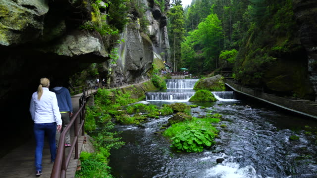 Ecotourism in The Kamnitz Gorge