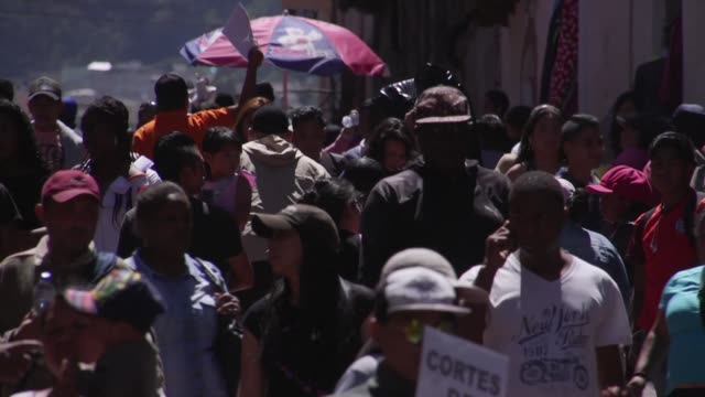 ecuadorians are overwhelmed by the venezuelan mass exodus which led to a sharp increase of migrants to the country but some fear it might lead to... - ecuadorian ethnicity stock videos and b-roll footage