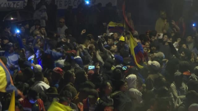 ecuador's president and indigenous leaders reached an agreement sunday to end nearly two weeks of violent protests against austerity measures adopted... - ecuador stock videos & royalty-free footage