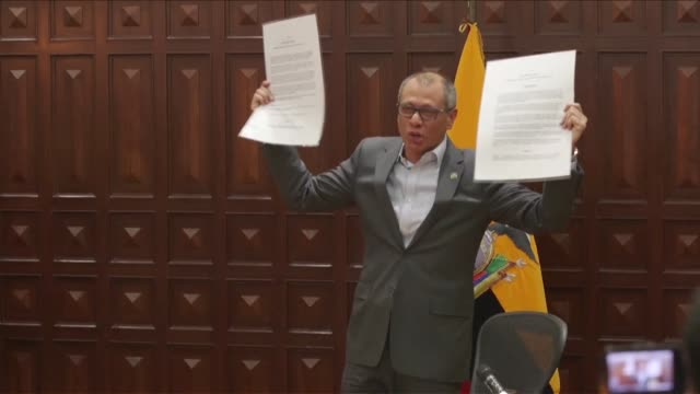 Ecuador's public prosecutor's office demanded pre trial detention for Vice President Jorge Glas under scrutiny for corruption charges related to...