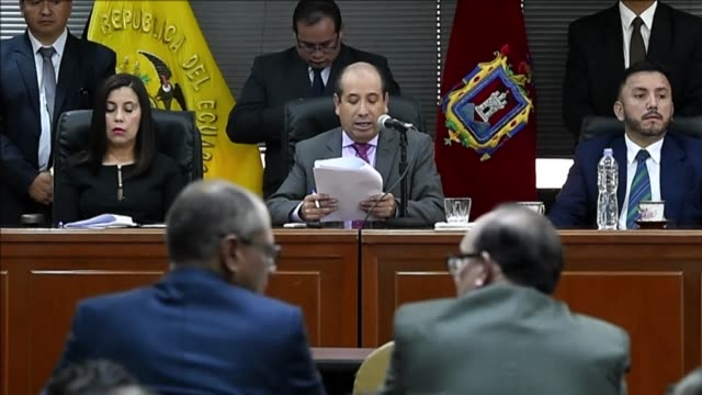 Ecuador's vice president Jorge Glas was sentenced to six years in prison Wednesday for receiving illegal kickbacks from Brazilian construction giant...