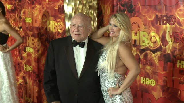Ed Asner at the 2015 HBO Emmy After Party at The Plaza at the Pacific Design Center on September 20 2015 in Los Angeles California