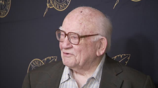 ed asner at the beverly hilton hotel on february 26, 2016 in beverly hills, california. - the beverly hilton hotel stock videos & royalty-free footage