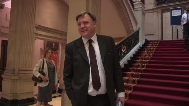 Ed Balls at The New Statesman Centenary Party on June 20 2013 in London England