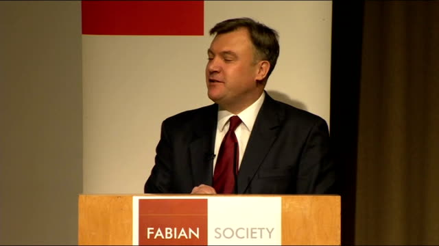 ed balls speech to the fabian society balls speech sot a growth challenge and a reform challenge changing times also demand new and longterm reforms... - speech bubble stock videos & royalty-free footage