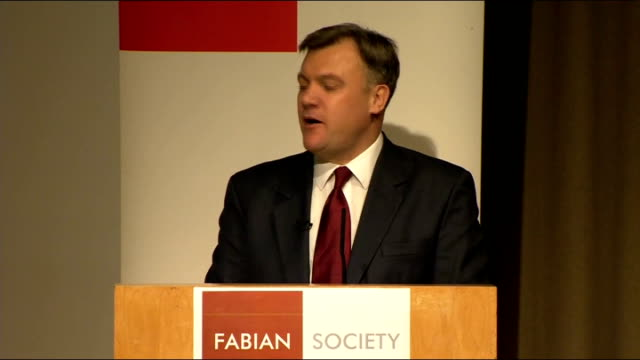 ed balls speech to the fabian society balls speech sot but and this was his great insight keynes also knew that economies could occasionally get... - animal creation stock videos & royalty-free footage