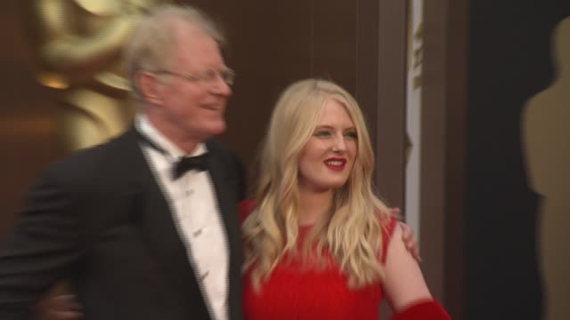 ed begley, jr. and hayden carson begley - 86th annual academy awards - arrivals at hollywood & highland center on march 02, 2014 in hollywood,... - hollywood and highland center stock videos & royalty-free footage