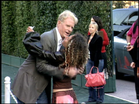 ed begley jr at the environmental media awards at wilshire ebell theatre in los angeles california on october 1 2005 - wilshire ebell theatre stock videos & royalty-free footage