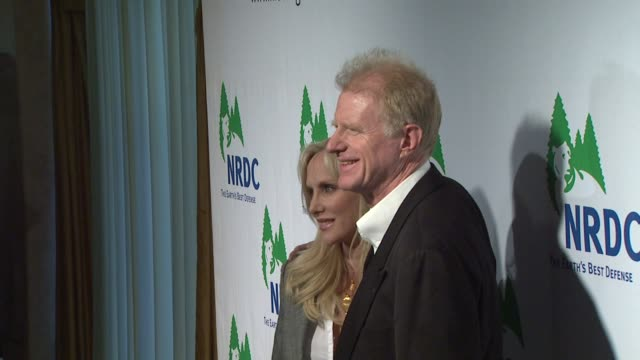 ed begley jr at the national resources defense council's 20th anniversary celebration at beverly hills ca - national resources defense council stock videos & royalty-free footage