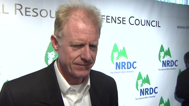 ed begley jr on his show on the victories we have had the past 20 years at the national resources defense council's 20th anniversary celebration at... - national resources defense council stock videos & royalty-free footage