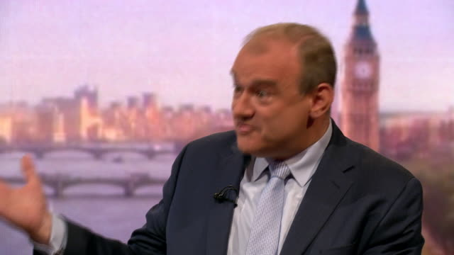 ed davey giving his reasons for liberal democrat members to vote for him over jo swinson - british liberal democratic party stock videos and b-roll footage