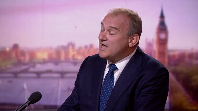 """ed davey saying the liberal democrat policy is to build more affordable housing """"with community consent"""" - strategy stock videos & royalty-free footage"""