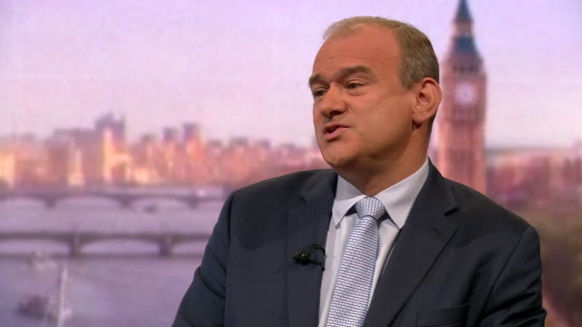 ed davey talking about positive changes he made as energy secretary - oil industry stock videos & royalty-free footage