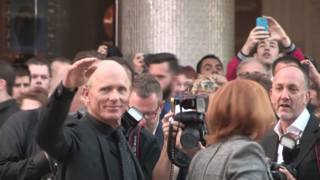 ed harris, amy madigan & donald de line at the pain & gain premiere in hollywood, 04/22/13 - amy madigan stock videos & royalty-free footage
