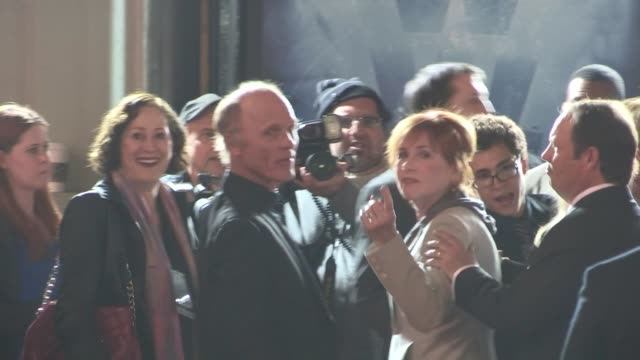 ed harris and amy madigan at the 'phantom' premiere in hollywood ca on 2/27/13 - amy madigan stock videos & royalty-free footage