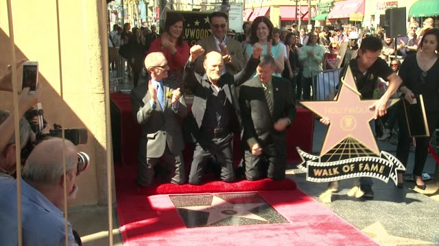 Ed Harris Andy Garcia and Marcia Gay Harden at Ed Harris Honored With Star on the Hollywood Walk of Fame in Hollywood CA on