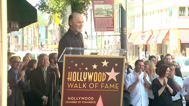 SPEECH Ed Harris at Ed Harris Honored With Star on the Hollywood Walk of Fame in Hollywood CA on