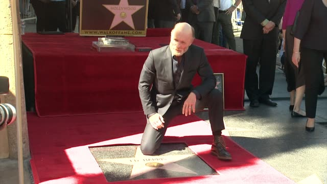 CLEAN Ed Harris at Ed Harris Honored With Star on the Hollywood Walk of Fame in Hollywood CA on