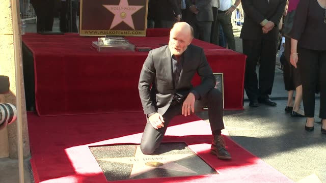 CHYRON Ed Harris Honored With Star on the Hollywood Walk of Fame in Hollywood CA on