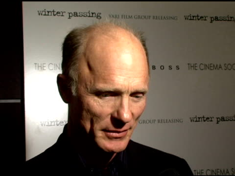 Ed Harris on the tone of the movie what attracted him to his particular role and the uplifting message of the movie and its statements on the human...