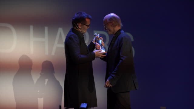 Ed Harris receives the Grand Honorary Award during the Sitges Film Festival 2018 closing gala held at the Hotel Melia on October 13 2018 in Sitges...