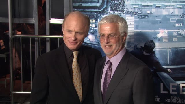 Ed Harris Rob Friedman at Man On A Ledge Los Angeles Premiere on 1/23/12 in Hollywood CA