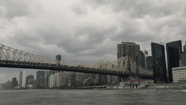 Ed Koch Queensboro Bridge Establishing Shot-wide
