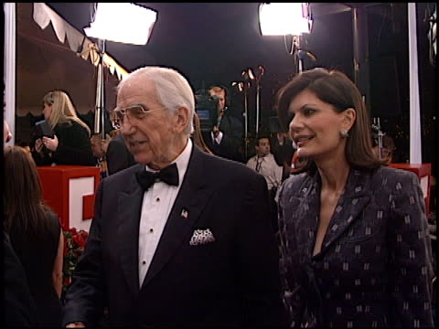 ed mcmahon at the 2002 people's choice awards at pasadena civic auditorium in pasadena california on january 13 2002 - pasadena civic auditorium stock videos & royalty-free footage