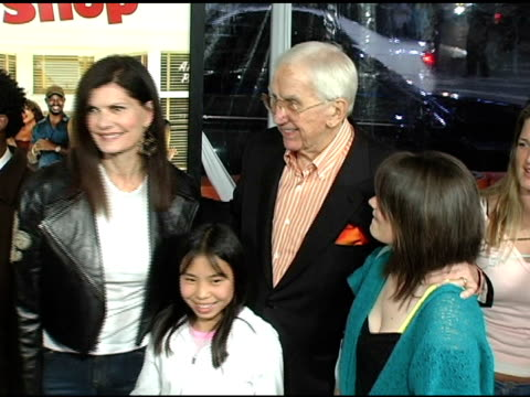 ed mcmahon at the 'beauty shop' world premiere at the mann national theatre in westwood, california on march 24, 2005. - mann national theater video stock e b–roll