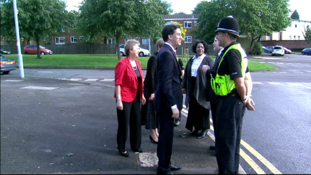 Ed Miliband launches Labour's candidates for police and crime commissioners ENGLAND Midlands Birmingham EXT Ed Miliband MP along with Yvette Cooper...