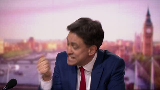 """ed miliband saying """"let's get tough in relation to our fish, but let's get a brexit deal"""" - recreational pursuit stock videos & royalty-free footage"""
