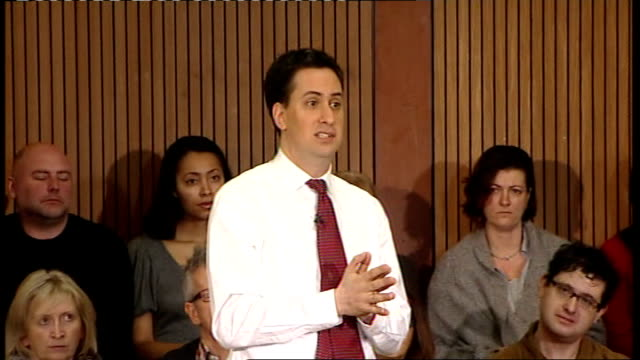ed miliband speech and q and a session; ed miliband question and answer - q&a session sot - - what has happened in last few weeks shows mps are not... - politics and government stock videos & royalty-free footage